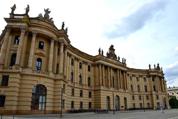Berlin Historical Center - Alte Bibliothek