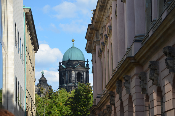 Berlin Historical Center - View of the Berlin Cathedral